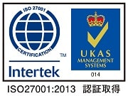 ISO27001ロゴ
